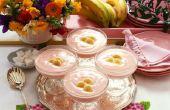 Hoe maak je banaan Pudding zonder een dubbele Boiler