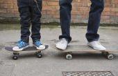 Hoe maak je een Hoverboard-Out van een oude Skateboard