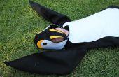Hoe maak je een pinguïn kostuum