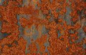 Hoe te maken verf eruit corrosie