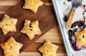 Hoe maak je ster-vormig Berry Hand taarten