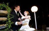 Zwarte & zilveren bruiloft receptie ideeën