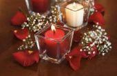 Het elegante en eenvoudige Centerpieces maken voor een bruiloft/evenement