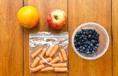 Hoe wordt fruit & groenten op vliegtuigen