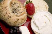 Ontbijt achterklep voedingsmiddelen