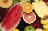 Hoe om gewicht te verliezen door het eten van vruchten