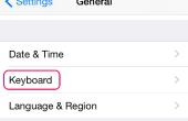 Het wijzigen van het toetsenbord op een iPhone