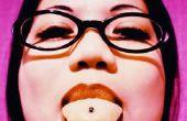 Hoe te voorkomen dat slechte adem met een tong Piercing