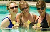 Hoe maak je een Low-Calorie limonade Rum drinken