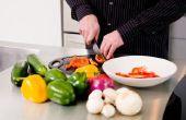 Geroosterde groenten in zakken van perkament