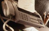 Het verzenden van een faxbericht naar Japan