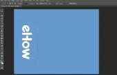 Hoe wijzig ik een Photoshop-Document aan landschap?