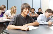 Onderzoek papier ideeën voor middelbare scholieren
