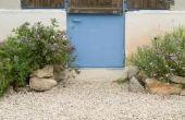 Hoe Bereken dikte grind voor de tuin