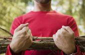 How to Make rustieke Twig balustrades