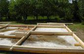Materialen die worden gebruikt voor het bouwen van fundamenten