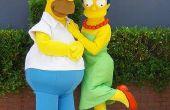 How to Make Homer Simpson ogen met Ping Pong ballen