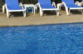 Oplossen van problemen met een zwembad dat chloor eet