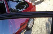 Hoe te verzachten van de auto venster Rubber