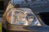 Hoe schoon auto koplamp lenzen