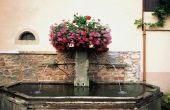 Bloemen & Water fontein Centerpieces