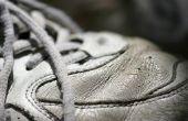 Hoe schoon wit lederen tennisschoenen