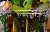 Plastic verwijderen uit een vaatwasser verwarmingselement