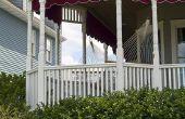 Hoe te schilderen van een houten veranda