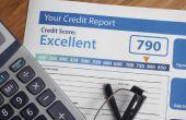 Hoe te verwijderen LVNV financiering uit een rapport van het krediet