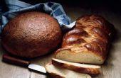 Gebruik je eidooiers of blanken bovenop brood voor het bakken?