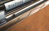 Hoe te ontwikkelen van een eenjarig Business Plan