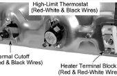 Het wijzigen van een thermostaat op een Duet Whirlpool droger