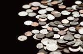 Het controleren van de waarde van oude munten