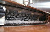 Hoe schoon spoelen van koelkast condensor