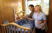 Hoe u een Baby Mobile koppelt aan dikker wieg Rails