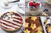 11 rode, witte en blauwe recepten voor Independence Day
