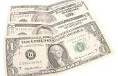 Hoe te vouwen van een dollarbiljet in een vierkant