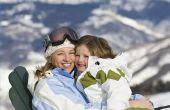 Hoe te de pluisjes van een Ski-jas