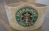 Ambachten te maken met Starbucks koffie mouwen