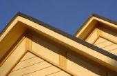 Hoe te berekenen van de oppervlakte van een schuin dak