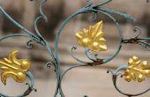 Hoe te schilderen van een ijzeren Bed antiek goud