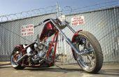 Hoe te berekenen van een motorfiets draaicirkel