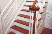 Hoe te leggen van de Bevloering van het hardhout over de aanvoer van de trap