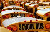 Zelfgemaakte schoolbus Bedankkaarten