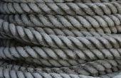 Hoe te breien met touw
