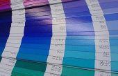 Hoe vindt u een Pantone-kleur
