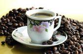 Hoe te bevriezen van koffiebonen