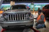 Hoe te programmeren van een Jeep Liberty universele Garage Opener
