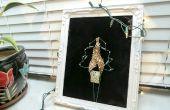 Hoe maak je een foto van de kerstboom met oude juwelen & lichten