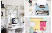 DIY Office Makeover van saai naar Fab